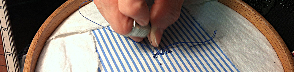 sewing of bottonholes and monograms
